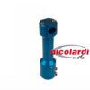 Supporto manubrio STR8 Aerox blu