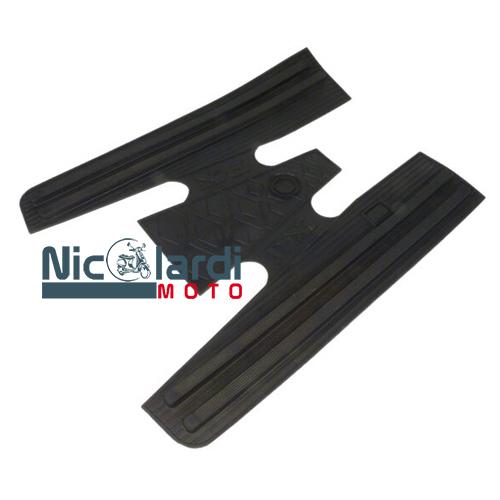 Tappeto in gomma nero Vespa PX-PXE Arcobaleno 125-150-200cc