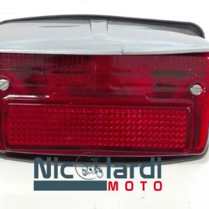 Fanale posteriore completo con tettuccio grigio Vespa Special 50cc