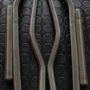 Serie profili plastica pedana Lambretta LI 3° serie