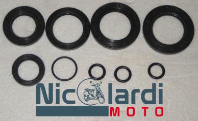 Serie paraoli motore con oring Lambretta LI-DL