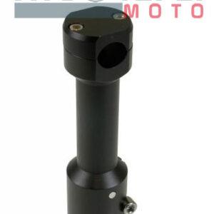 Supporto manubrio STR8 Aerox nero opaco