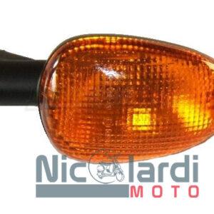 Freccia posteriore sinistra nera Malaguti F12 50cc 2001->2006