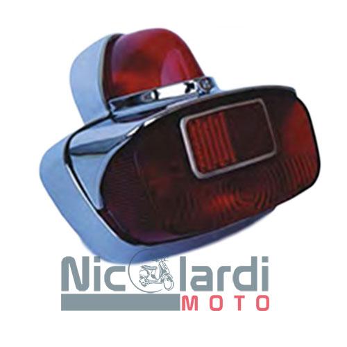 Fanale posteriore completo SIEM Vespa VNB 1-3-5 125cc - Vespa VBA1-VBB1-2T 150cc - Vespa GS-GL 150cc