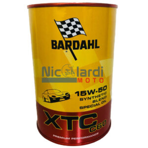 Olio motore Bardahl XTC C60 15W-50 1L