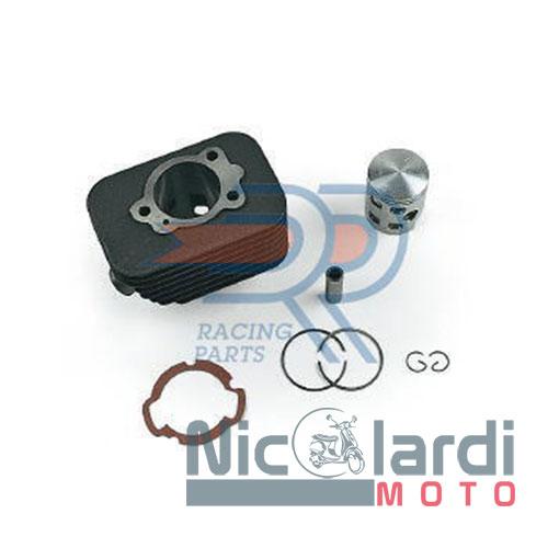 Kit cilindro DR Evolution Ø47mm - spinotto 12mm Piaggio Ciao-Si-Grillo-Boxer-Boss 50cc