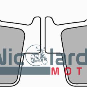 Serie pastiglie freni Ferodo Eco friction FDB2162 Suzuky DR Z 400cc