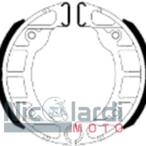 Serie ganasce freno Ferodo Eco friction FSB910A Bravo-Ciao-Grillo-Si 50cc