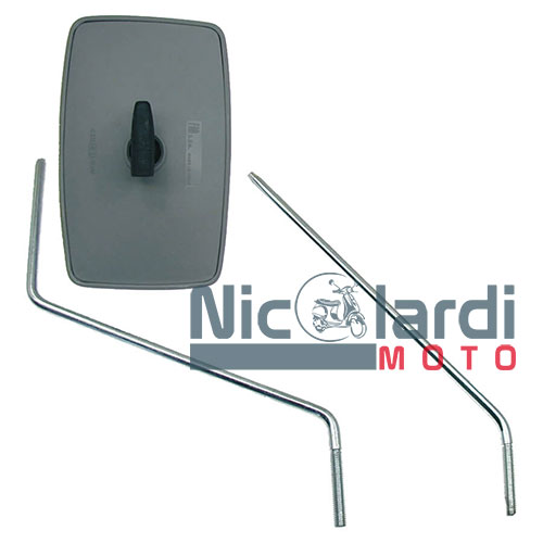 Specchietto retrovisore sinistro-destro Ape FL/FL2 - TM P 50cc - Ape MP P501-601 220cc