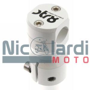 Supporto manubrio Piaggio STR8 Bianco