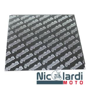 Serie lastre carbonio 110x110x2,5 mm - Spessore 0,40 mm