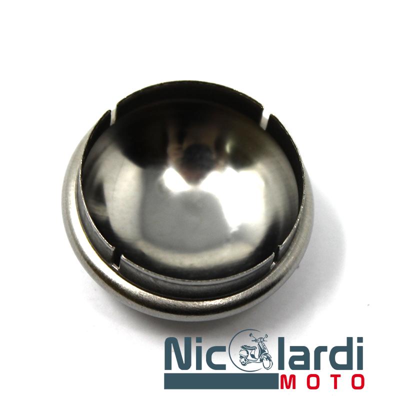 Tappo cromato per tamburo (tipo piccolo) Vespa PX - PE 125 - 150cc dal '78 al '82 - Ape 50cc