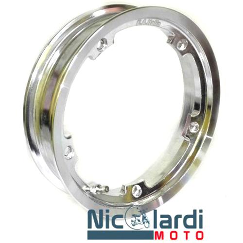 Cerchio tubeless 2.10 x 10 alluminio lucido Vespa PX 50 cc - Primavera - ET3 125cc