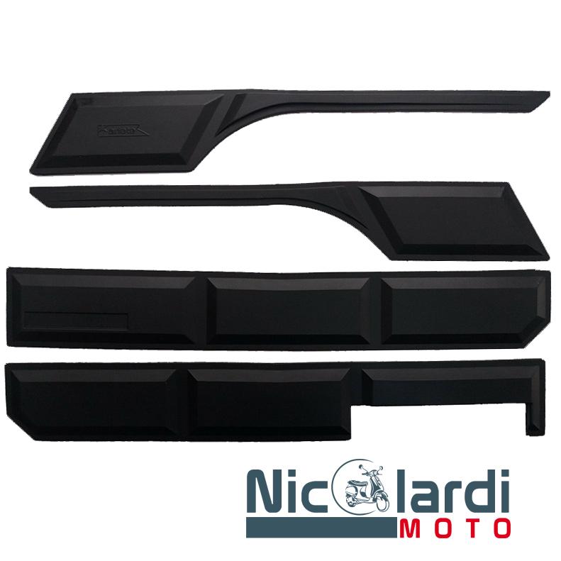 Serie strisce nere paracolpi Vespa PX - PE 125 - 150 - 200cc