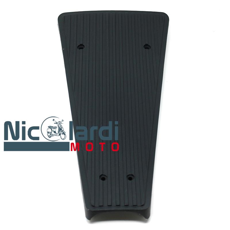 Pedana tappeto centrale grigia rigata Vespa PX - PXE Arcobaleno 125 - 150 - 200cc