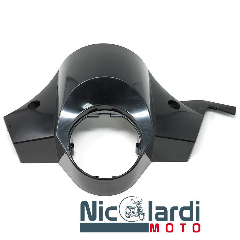 Coperchio manubrio nero Vespa PX disco 125 - 150 - 200cc