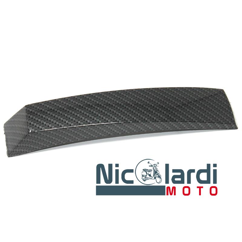 """Cresta parafango tipo largo """"Carbone look"""" Vespa PX - PX Arcobaleno 125 - 150 - 200cc"""