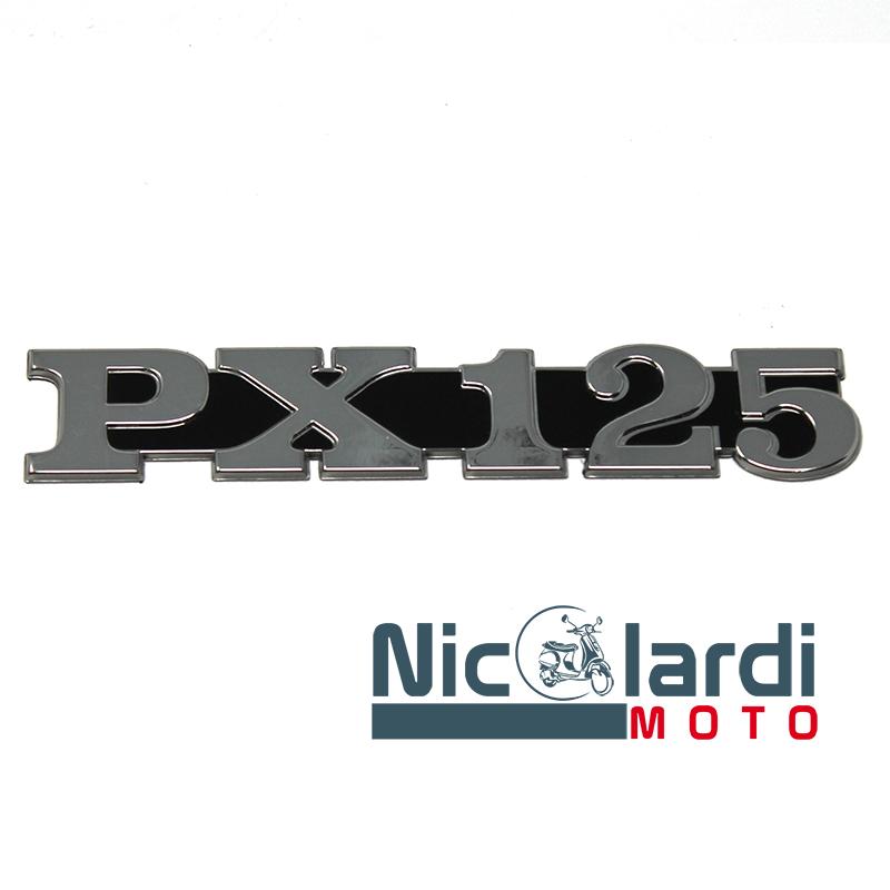 """Targhetta laterale scritta """"PX 125"""" - Vespa PX 125cc"""