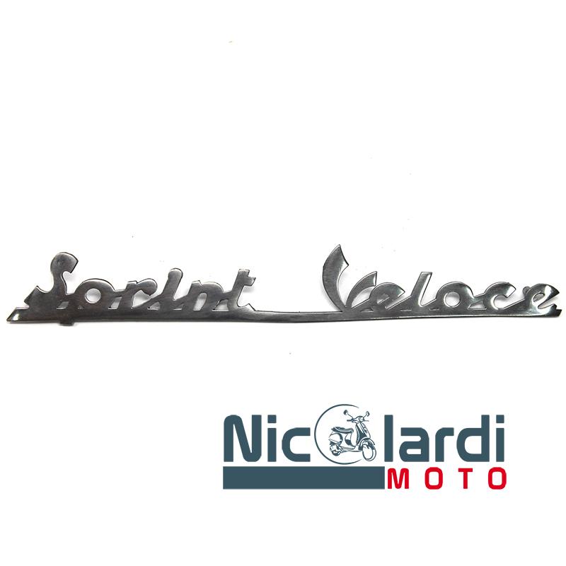 """Targhetta posteriore scritta """"Sprint Veloce"""" - Vespa VLB1T"""