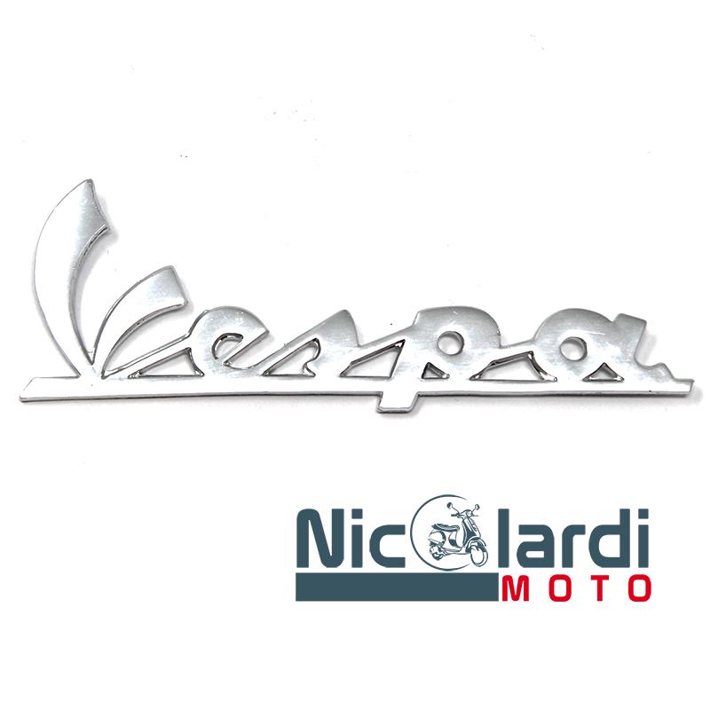 """Targhetta anteriore scritta """"Vespa"""" - Vespa VNB6T - Super - Sprint - Sprint Veloce 125 - 150cc"""