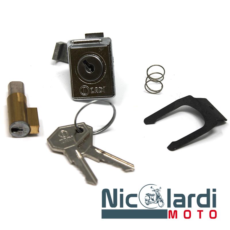 Kit serratura bauletto e bloccasterzo Vespa Primavera - ET3 125cc